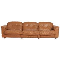 De Sede Leather Sofa, DS 101