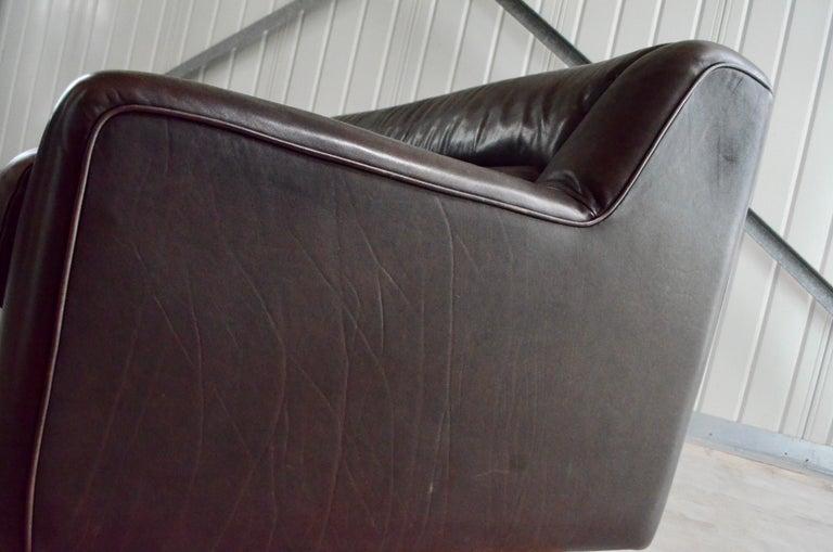 De Sede Leather Sofa DS 43 Brown For Sale 13