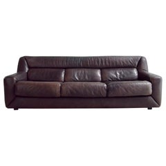 De Sede Leather Sofa DS 43 Brown