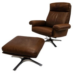 De Sede Lounge Chair and Ottoman DS-31, 1970s