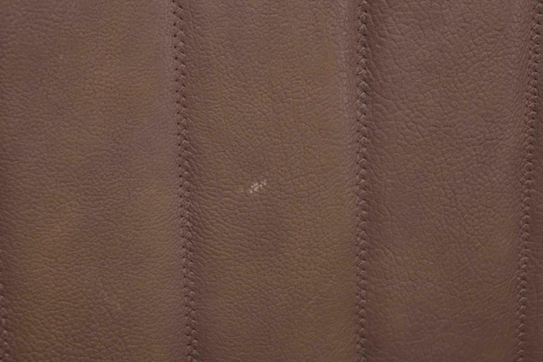 De Sede Model DS 84 Brown Leather Sofa from Switzerland For Sale 4