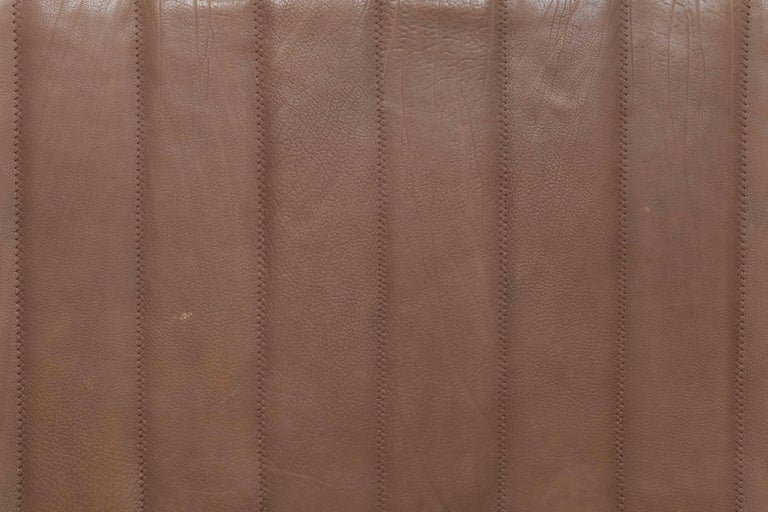 De Sede Model DS 84 Brown Leather Sofa from Switzerland For Sale 8