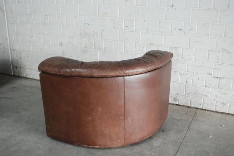 De Sede Modul Vintage Leather Sofa brown For Sale 10