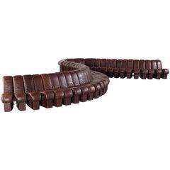 De Sede Monumental DS-600 Organic Leather Sofa