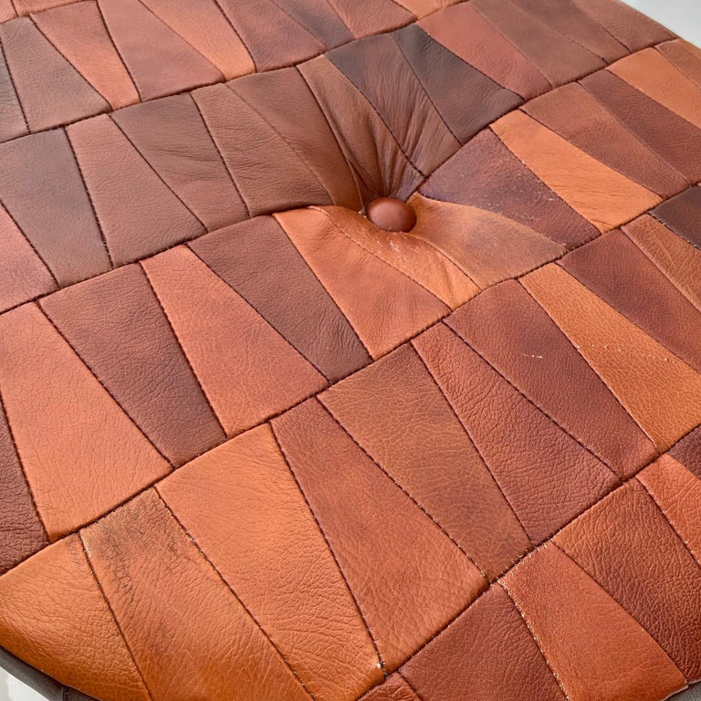 De Sede Patchwork Leather Storage Ottoman 7