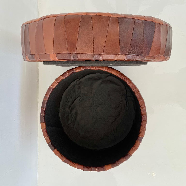 De Sede Patchwork Leather Storage Ottoman 4