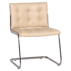 De Sede RH 305/01 Leather Chair Beige Cantilever Dining Chair