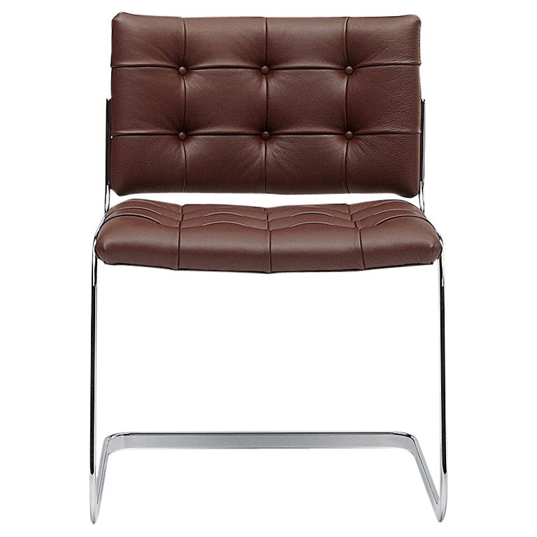 De Sede RH-305 Chair in Cafe Upholstery by Robert Haussmann For Sale