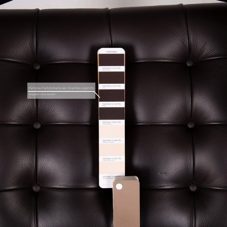 Swiss De Sede RH 305 Leather Armchair Dark Brown Chair For Sale