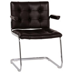 De Sede RH 305 Leather Armchair Dark Brown Chair