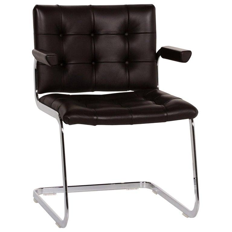 De Sede RH 305 Leather Armchair Dark Brown Chair For Sale