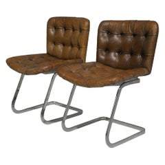 De Sede RH304 Chairs Designed by Trix Robert Hausmann, Switzerland, 1960's