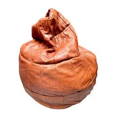 De Sede Saddle Leather Patchwork Bean Bag