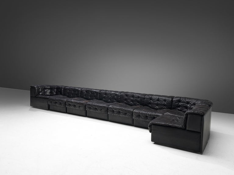 Post-Modern De Sede Sectional Patchwork Sofa Model DS11 For Sale