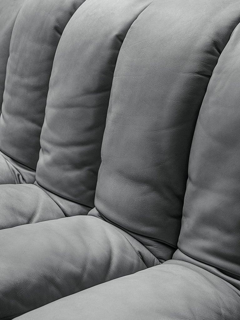 De Sede 'Snake' DS 600 Non Stop 24 Section Grey Sofa 2
