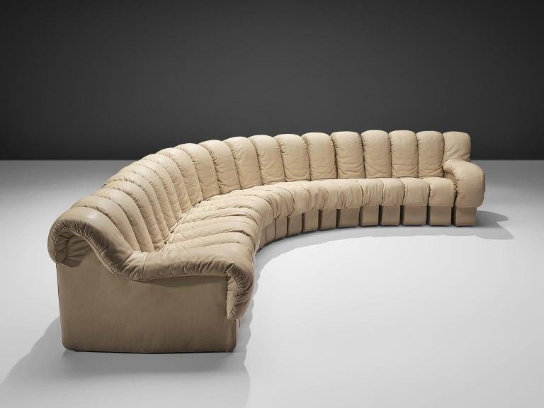 De Sede Snake Ds 600 Non Stop Sofa In