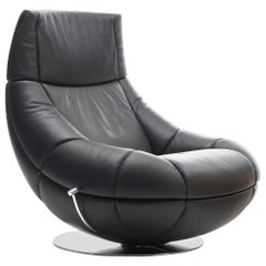 De Sede Swivel Lounge Chair with Tilt by Hugo De Ruiter