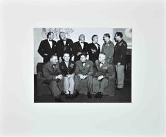 Portrait of American Air Power Generals of World War II - b/w Photograph - 1940s
