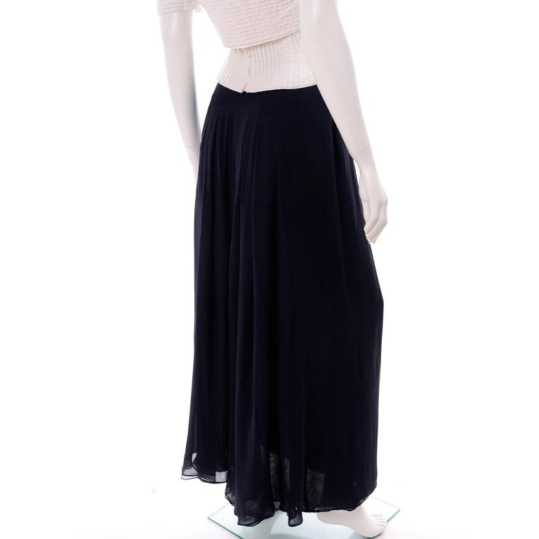 Deadstock Oscar de la Renta 3 pc Evening Dress w White Bolero & Bustier & Skirt For Sale 9