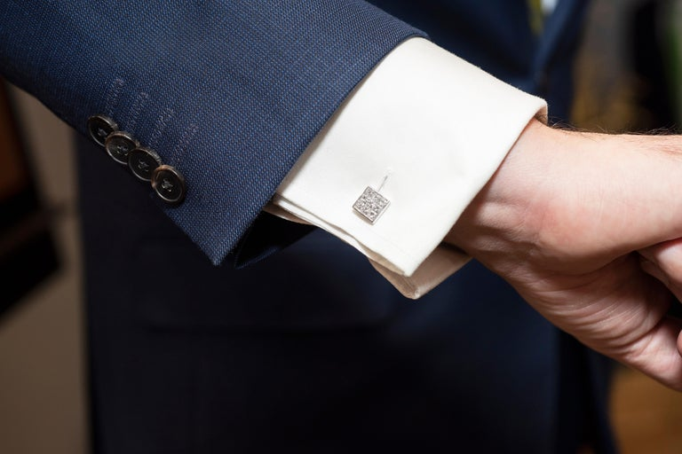 DEAKIN & FRANCIS, Piccadilly Arcade, London  These dazzling cufflinks truly are one of a kind. With only one pair made, these cufflinks are the perfect finishing touch to any black tie outfit! Dazzle in style, with the ultimate luxurious pair of