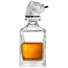 Deakin & Francis Bulldog Crystal Decanter