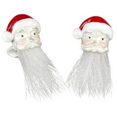 Deakin & Francis Hairy Santa Cufflinks