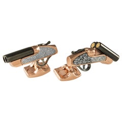 Deakin & Francis Moving Shotgun Cufflinks