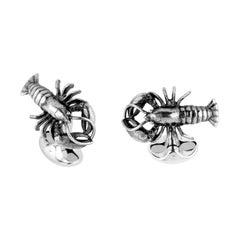 Deakin & Francis Sterling Silver Lobster Cufflinks