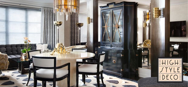 high style deco new york ny 1stdibs. Black Bedroom Furniture Sets. Home Design Ideas