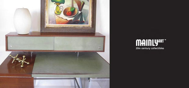 Mainly Art Vintage Modern Furniture Office Chairs And Desk