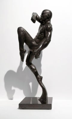 This Impact (Muay Thai Fighter) Bronze Sculpture