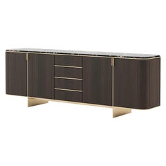 Dean Sideboard, Portuguese 21st Century Contemporary with Marble
