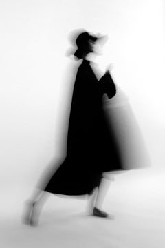 Silhouette with hat