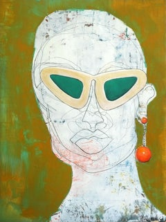 Eva, Painting, Acrylic on Wood Panel
