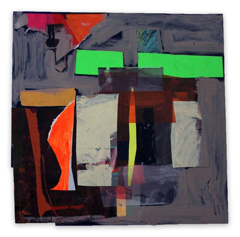 Deanna Sirlin Abstract Painting - And Back Again