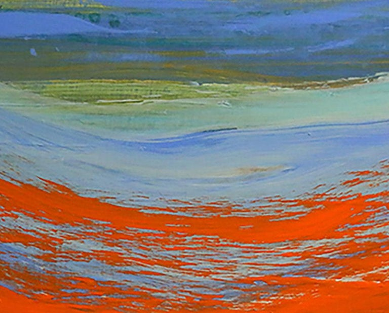 Moving Forward - Abstract Painting by Deanna Sirlin
