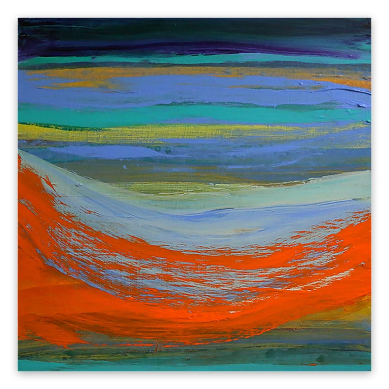 Deanna Sirlin Abstract Painting - Moving Forward