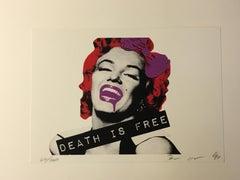 Death NYC - Marilyn Death red  - 2012