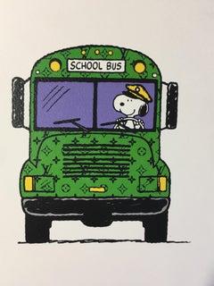 Death NYC -   Snoopy LV school bus  - 2012