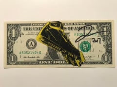 "Rare dollar banknote by Death NYC, ""Death Nike"""