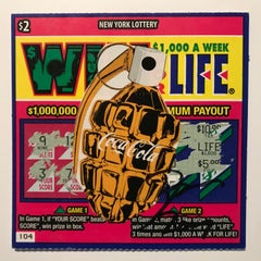 Rare Win for Life ticket by Death NYC