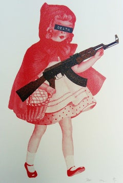 Little Red Riding Hood with Gun