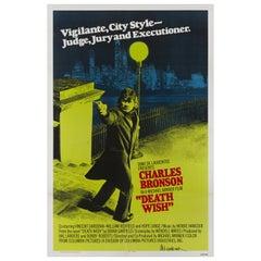 """""""Death Wish"""" Original US Film Poster"""