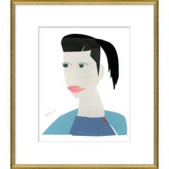 """Deb"" - Susan Hable Empowering Women Illustrations"
