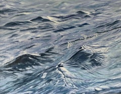 Winter's Water, Oil Painting