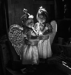 Debbie Fleming Caffery. Rosa and Guadalupe, Mexico, (angels), gelatin silver