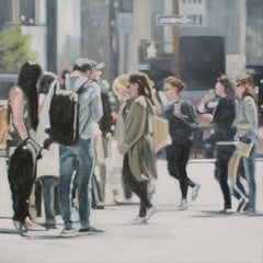 At Your Own Pace, Painting, Oil on Canvas