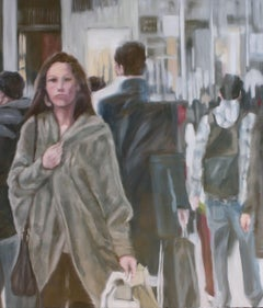 Come and Go, Painting, Oil on Wood Panel
