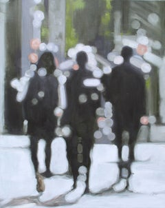 Silhouettes, Painting, Oil on Canvas