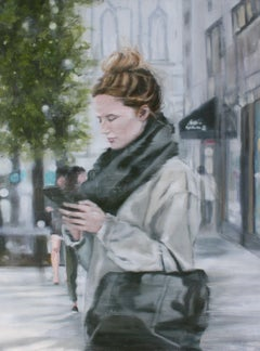Wandering, Painting, Oil on Canvas
